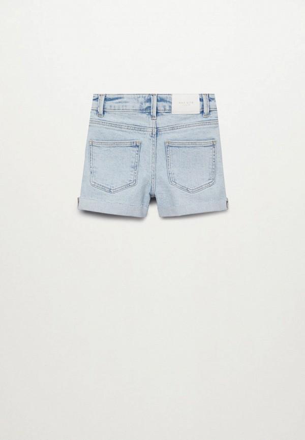 Шорты для девочки джинсовые Mango Kids 87015697 Фото 2