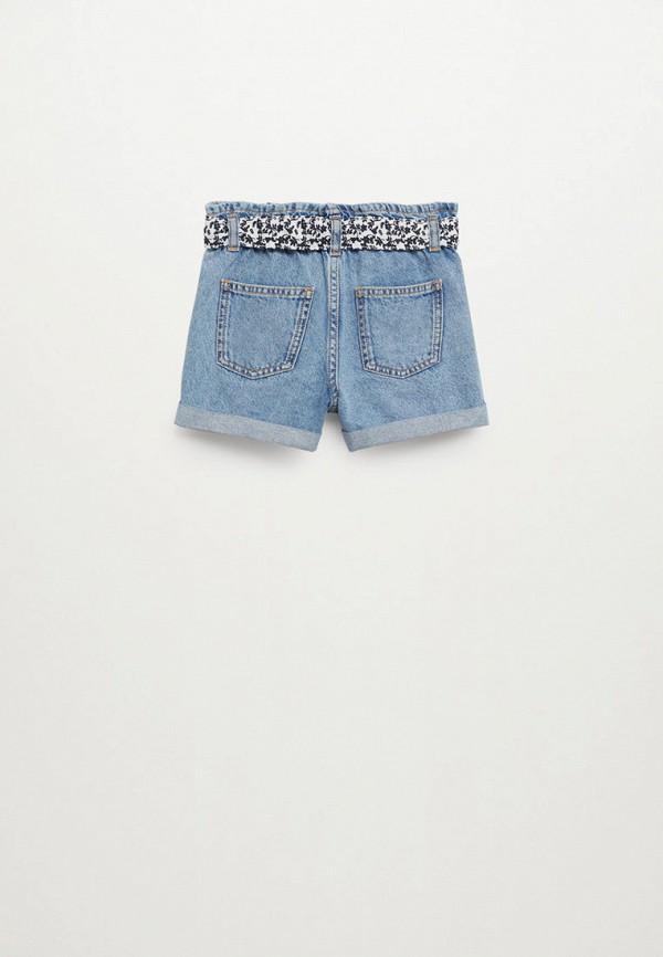 Шорты для девочки джинсовые Mango Kids 87026705 Фото 2