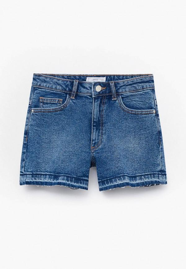 Шорты для девочки джинсовые Mango Kids 87057140
