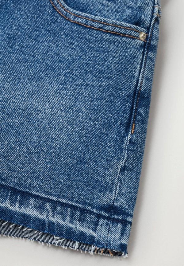 Шорты для девочки джинсовые Mango Kids 87057140 Фото 3
