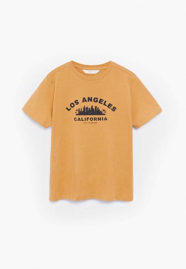 футболка mango kids для мальчика