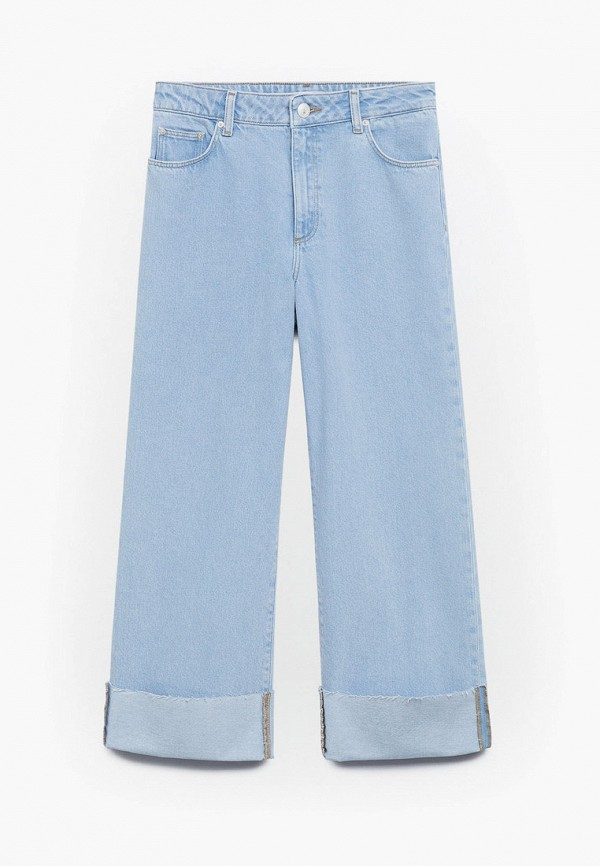 джинсы mango kids для девочки, голубые