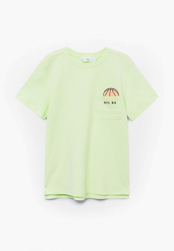 Футболка для мальчика Mango Kids 87027636