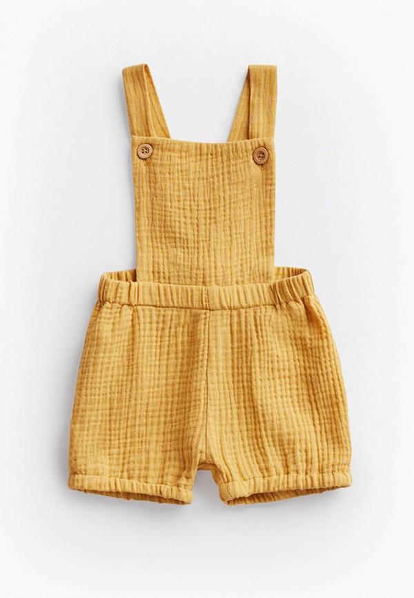 комбинезон mango kids малыши, желтый
