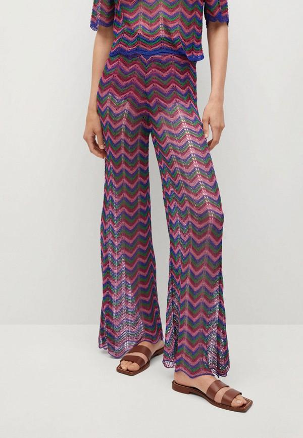 женские повседневные брюки mango, разноцветные