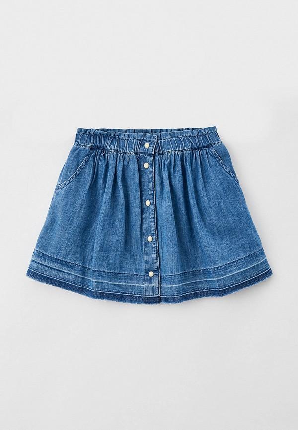 юбка gap для девочки, голубая