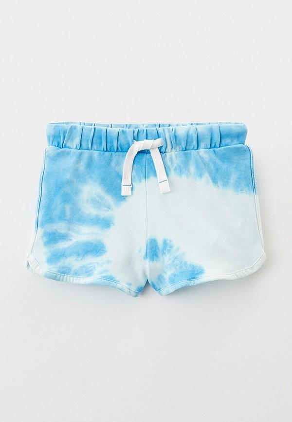 спортивные шорты marks & spencer для девочки, голубые