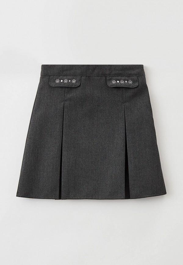 юбка marks & spencer для девочки, серая