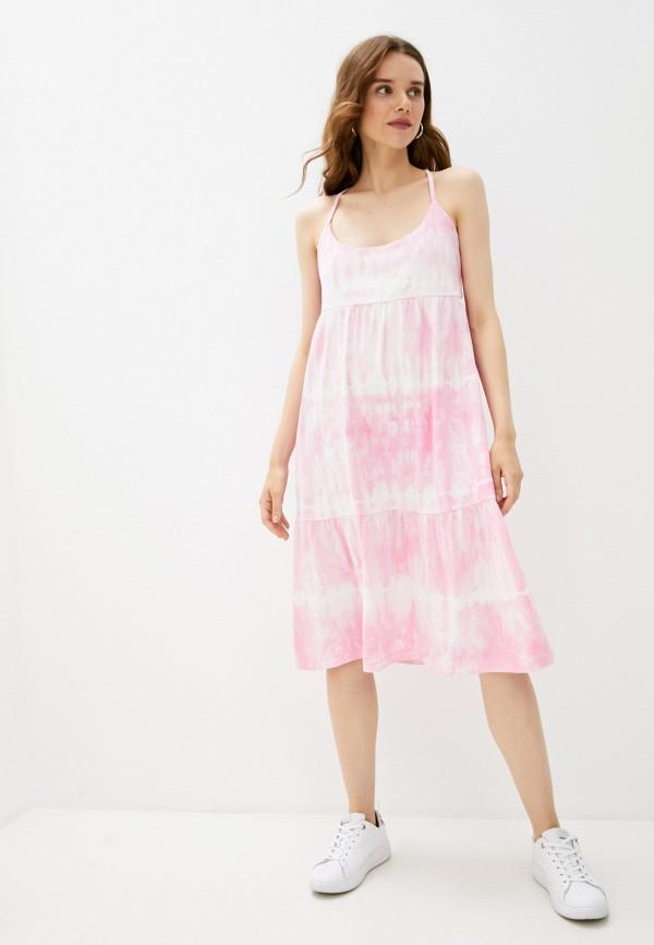 женский сарафан gap, розовый