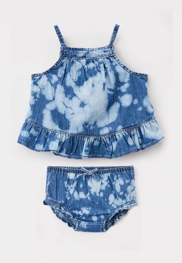 костюм gap для девочки, синий