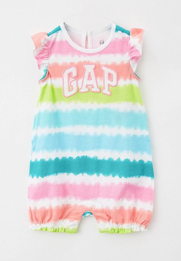 комбинезон gap для девочки, разноцветный