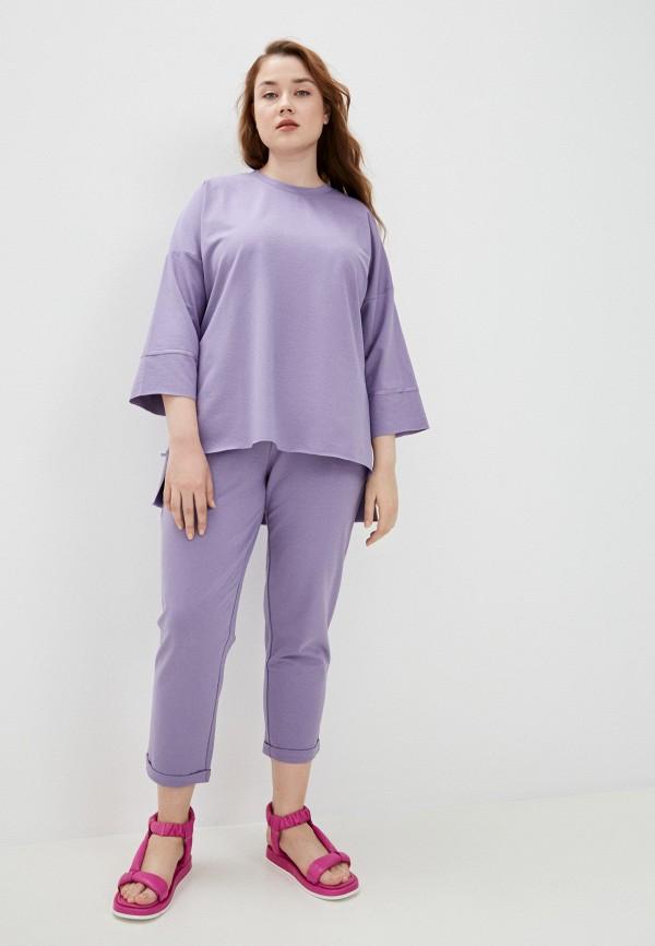женский спортивный костюм chic de femme, фиолетовый