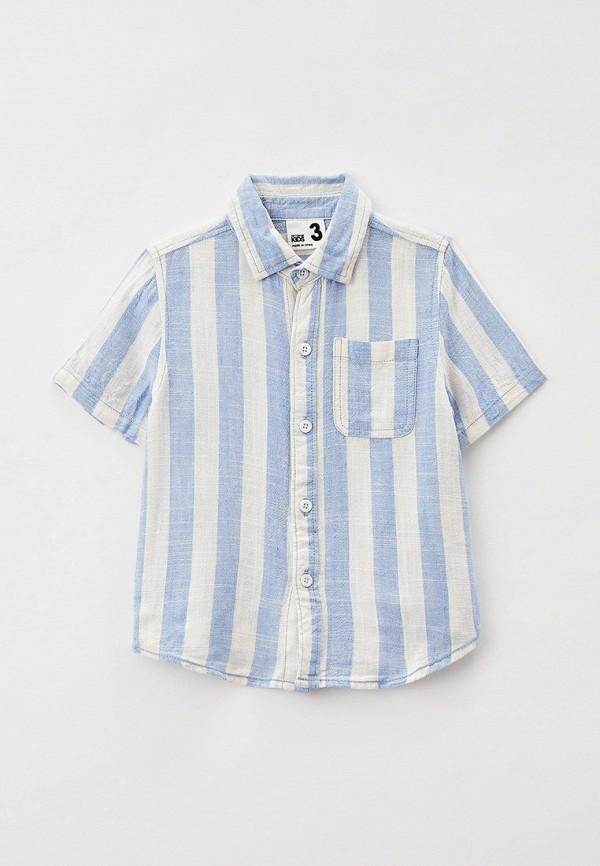рубашка cotton on для мальчика, голубая