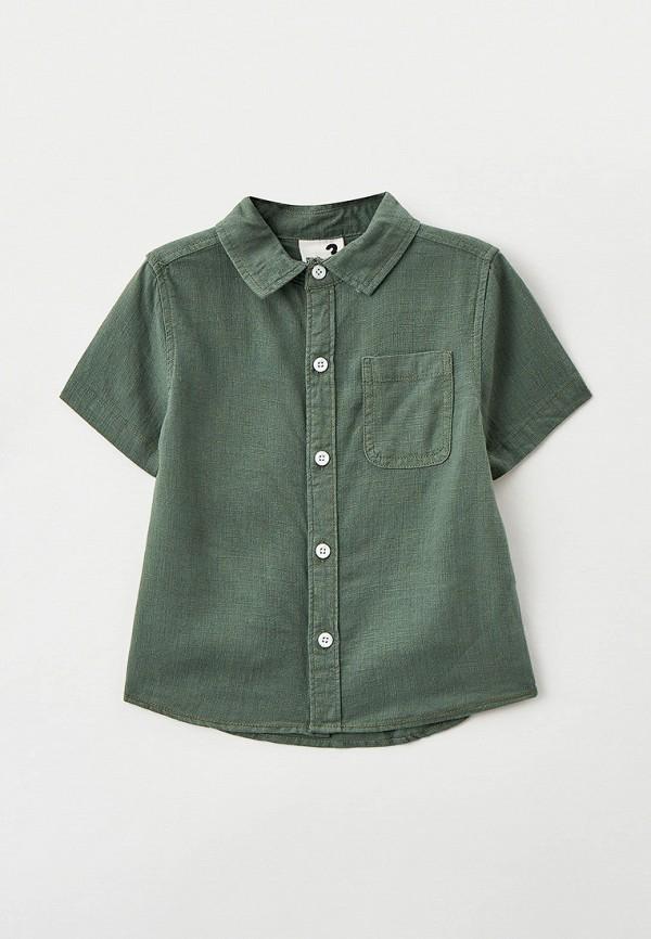 рубашка cotton on для мальчика, зеленая