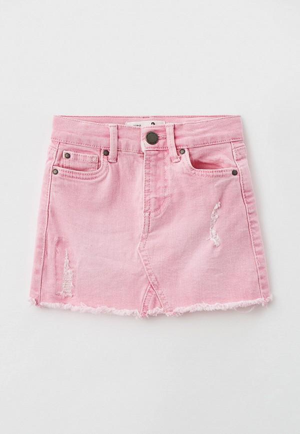 юбка cotton on для девочки, розовая