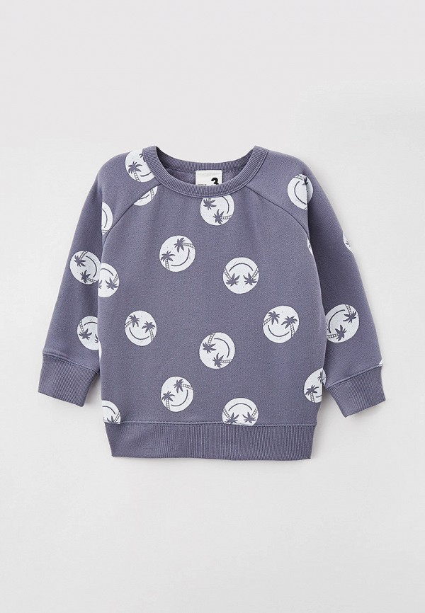 свитшот cotton on для мальчика, серый