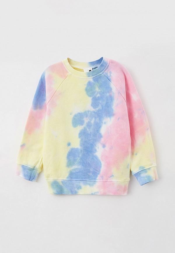 свитшот cotton on для девочки, разноцветный