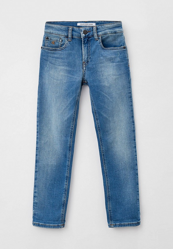 джинсы calvin klein для мальчика, голубые