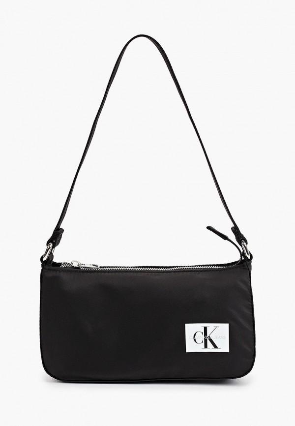 сумка calvin klein для девочки, черная