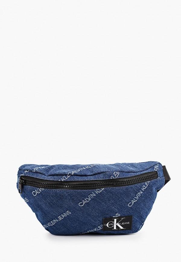 сумка calvin klein малыши, синяя