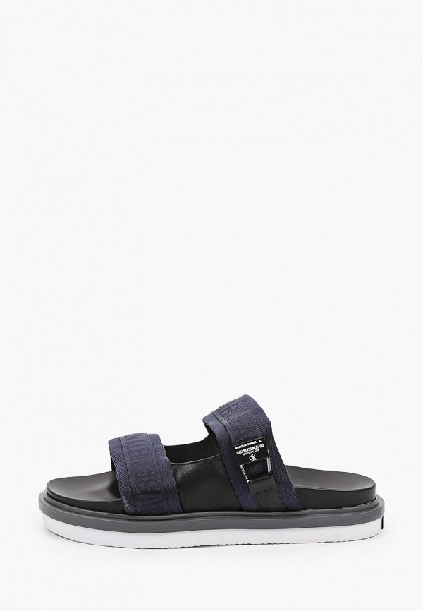 мужские сандалии calvin klein, синие