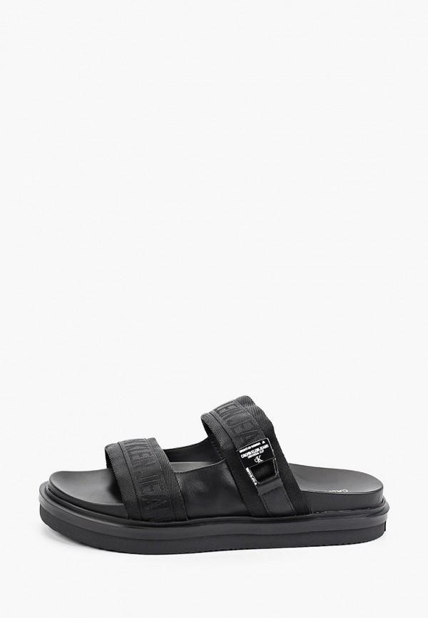 мужские сандалии calvin klein, черные