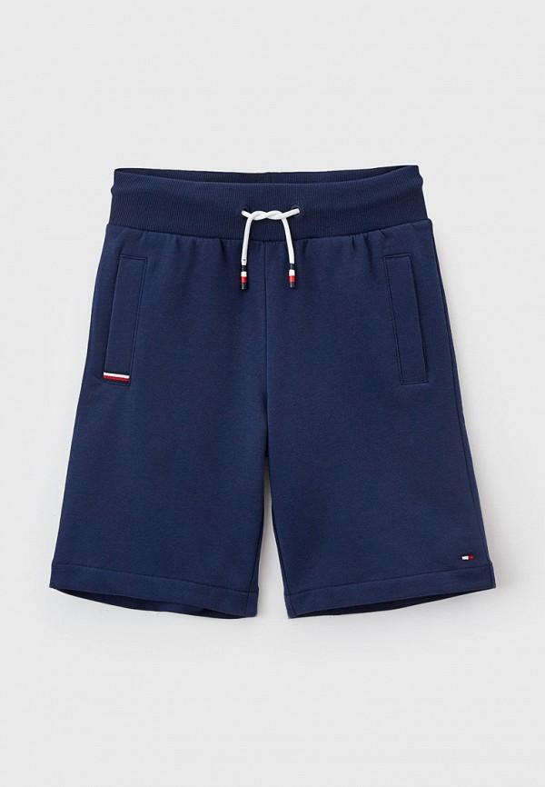спортивные шорты tommy hilfiger для мальчика, синие