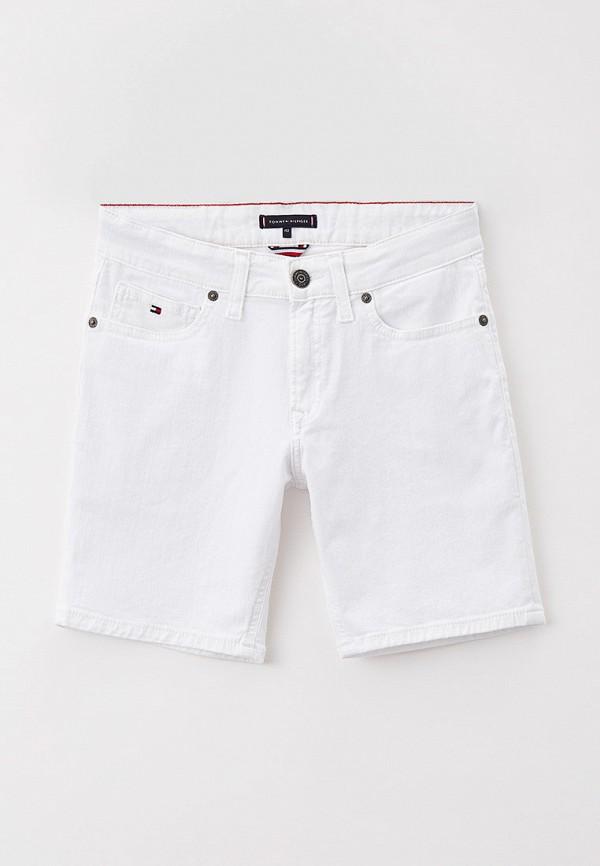 джинсовые шорты tommy hilfiger для мальчика, белые