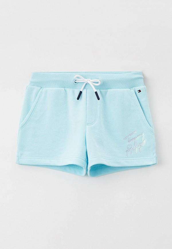 Шорты спортивные Tommy Hilfiger голубого цвета