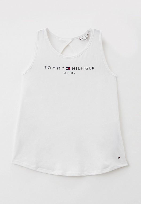 Майка Tommy Hilfiger белого цвета