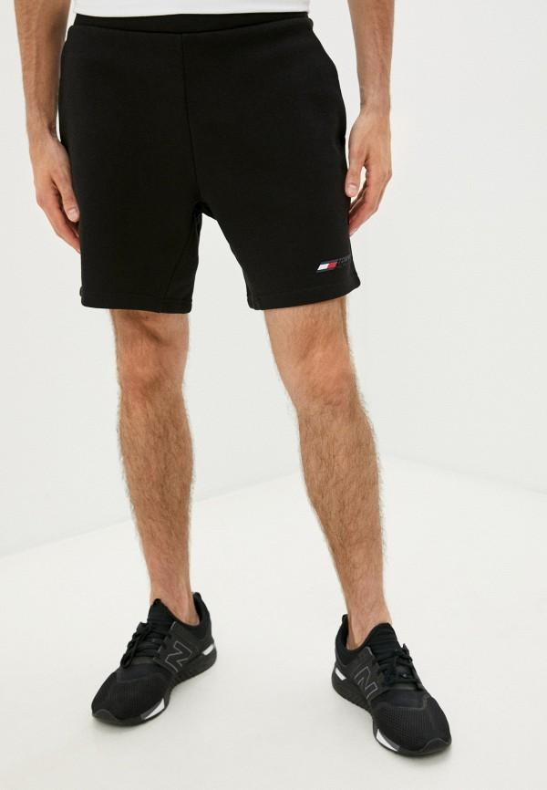 Шорты спортивные Tommy Hilfiger черного цвета