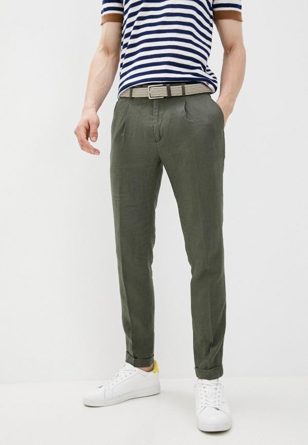 мужские зауженные брюки manuel ritz, хаки