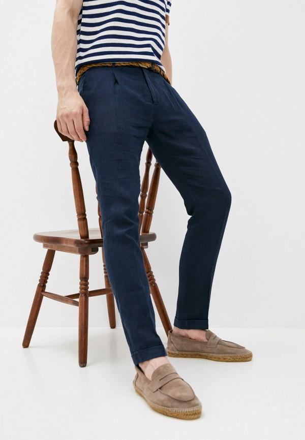 мужские повседневные брюки manuel ritz, синие