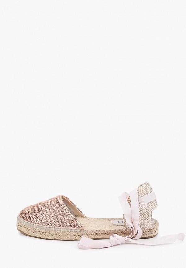 женские сандалии manebi, золотые