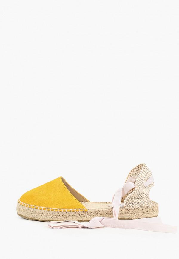 женские эспадрильи manebi, желтые