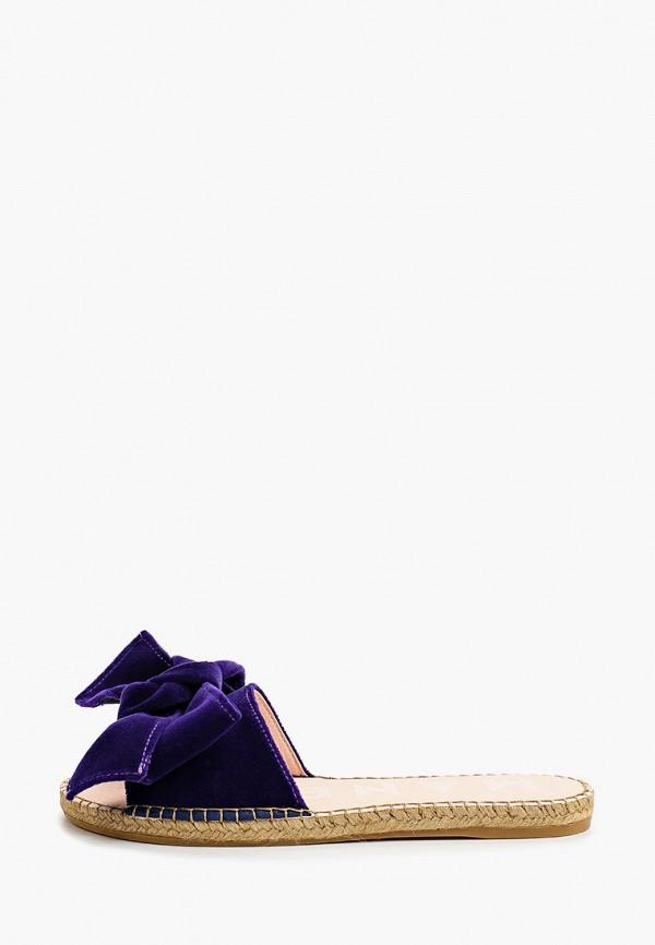 женское сабо manebi, фиолетовое