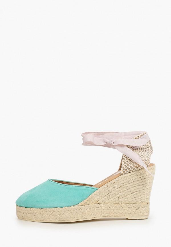 женские туфли manebi, бирюзовые