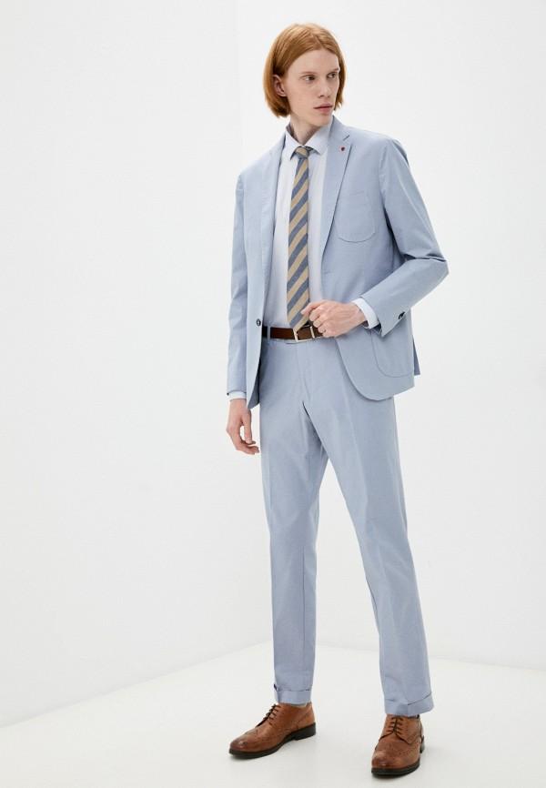 мужской классические костюм primo emporio, голубой