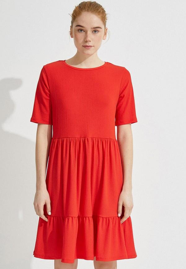 женское повседневные платье koton, красное