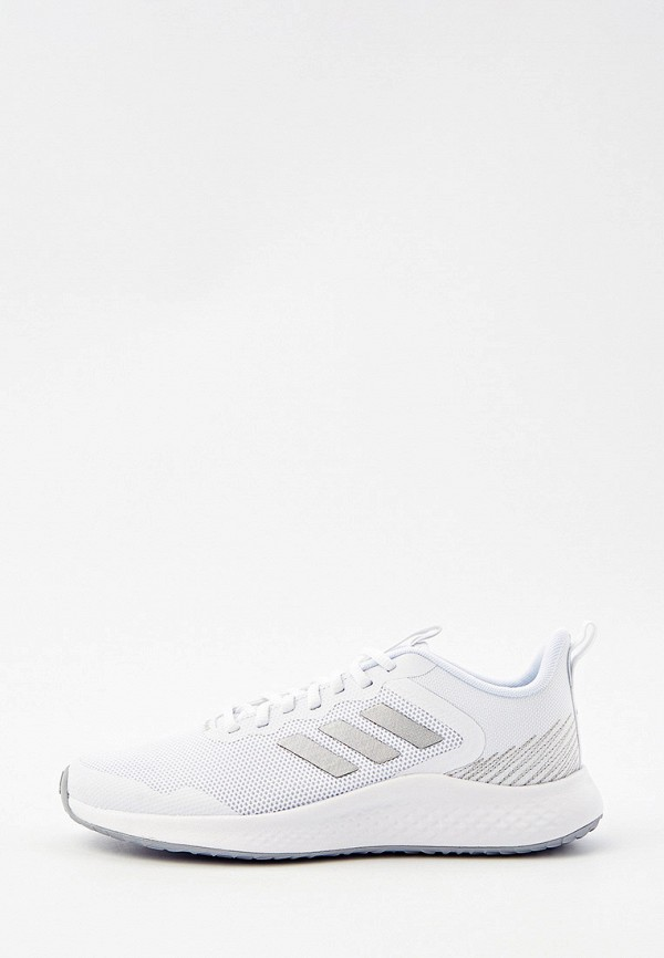 женские кроссовки adidas, белые