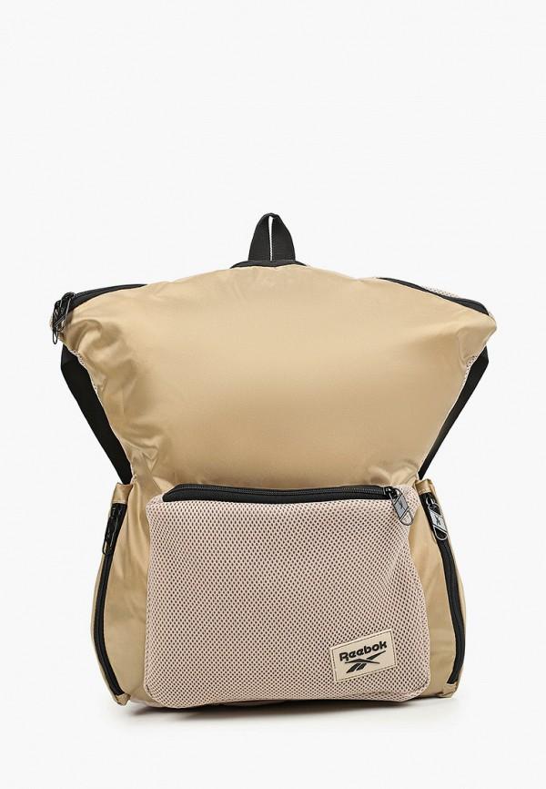 женский рюкзак reebok, бежевый