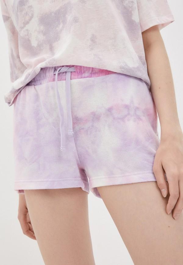 женские спортивные шорты roxy, фиолетовые