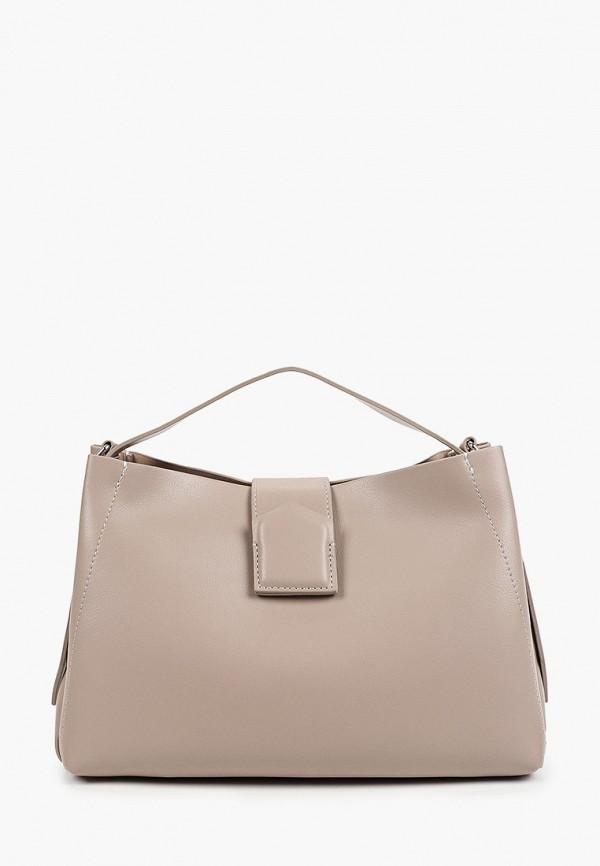 женская сумка francesca peretti, серая