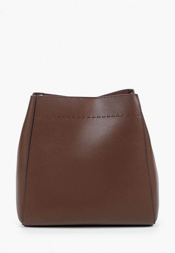 женская сумка francesca peretti, коричневая