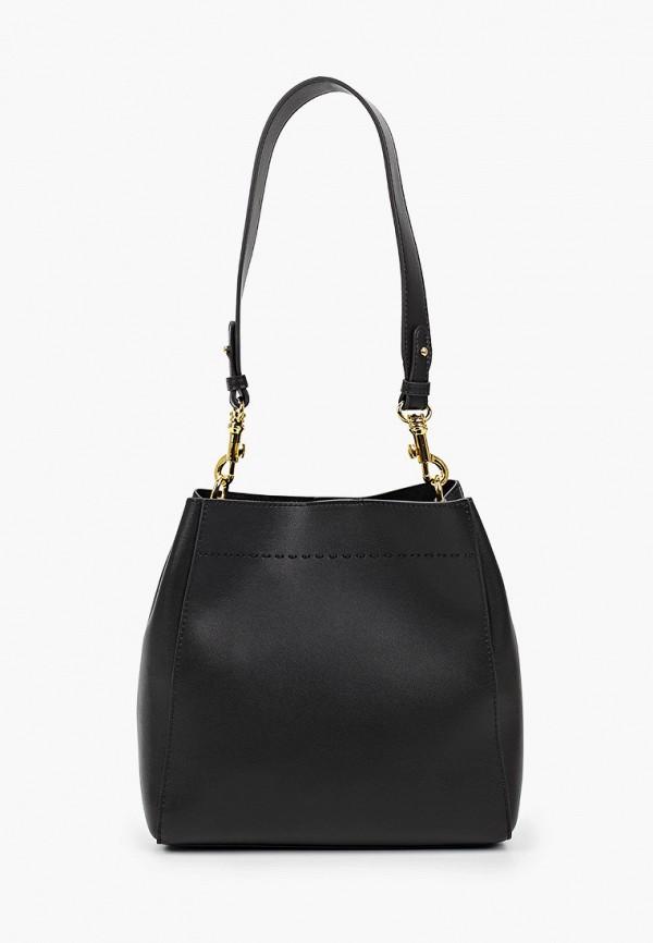 женская сумка francesca peretti, черная