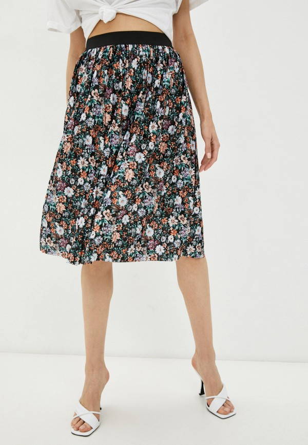 женская плиссированные юбка jacqueline de yong, разноцветная