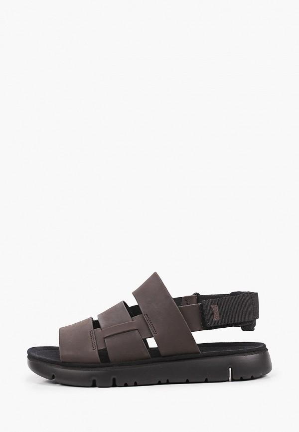 мужские сандалии camper, коричневые