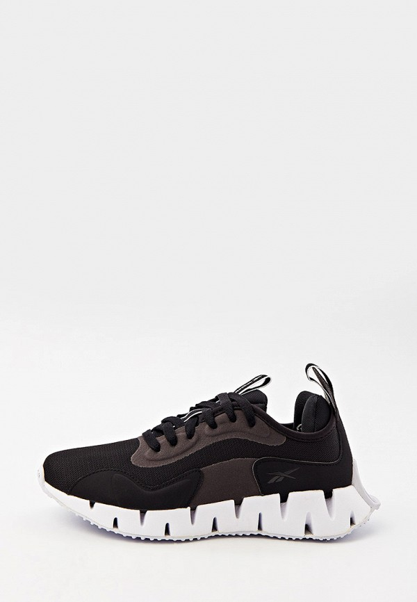 женские низкие кроссовки reebok, черные