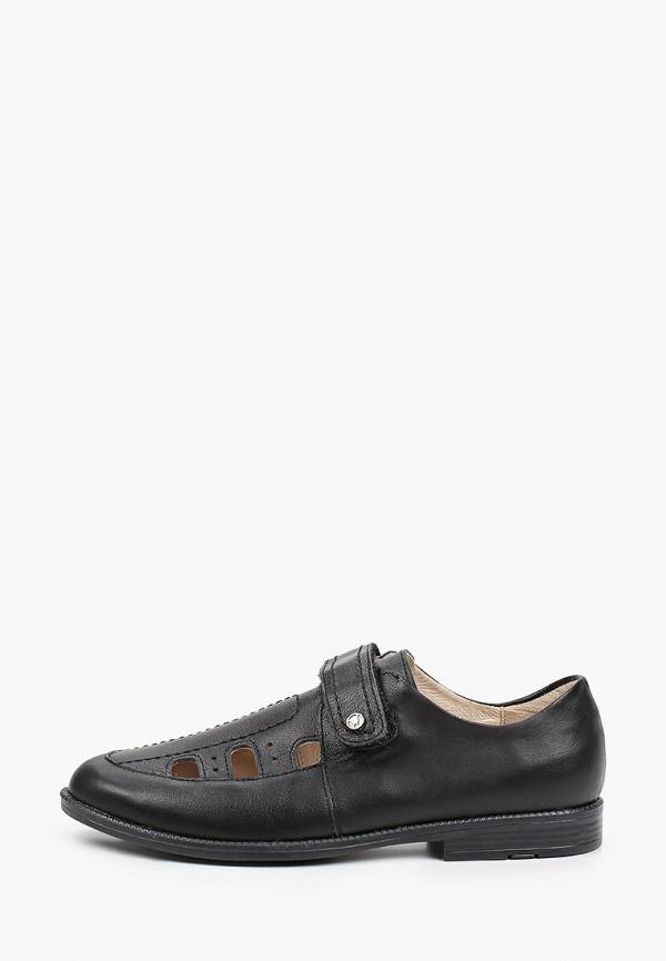 туфли tapiboo для мальчика, черные