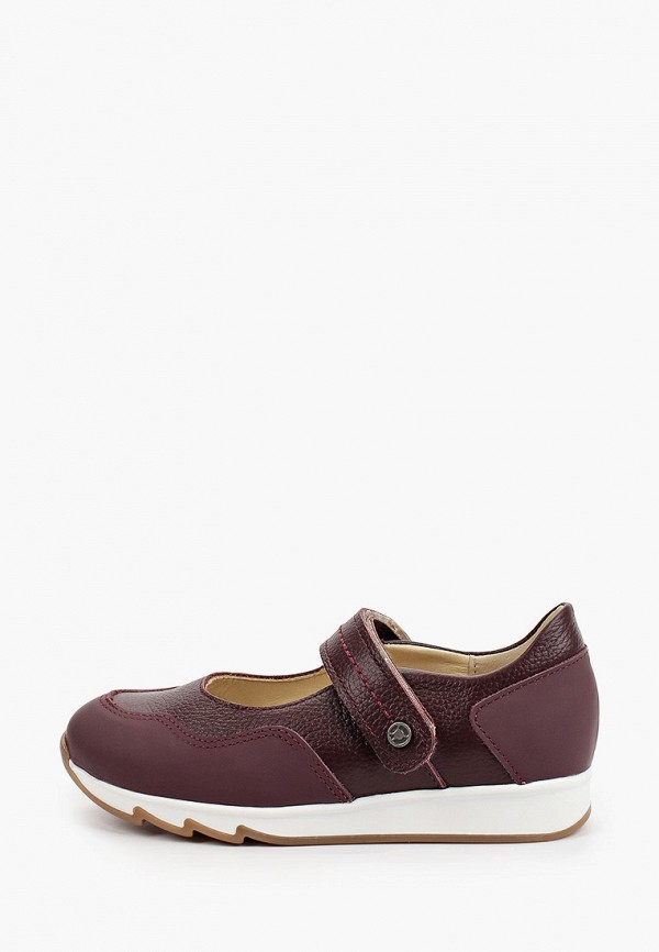 туфли tapiboo для девочки, бордовые